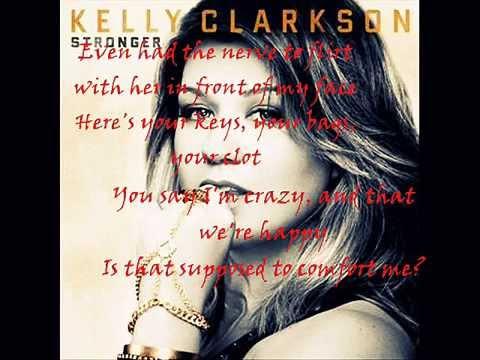 Einstein with lyrics - Kelly Clarkson