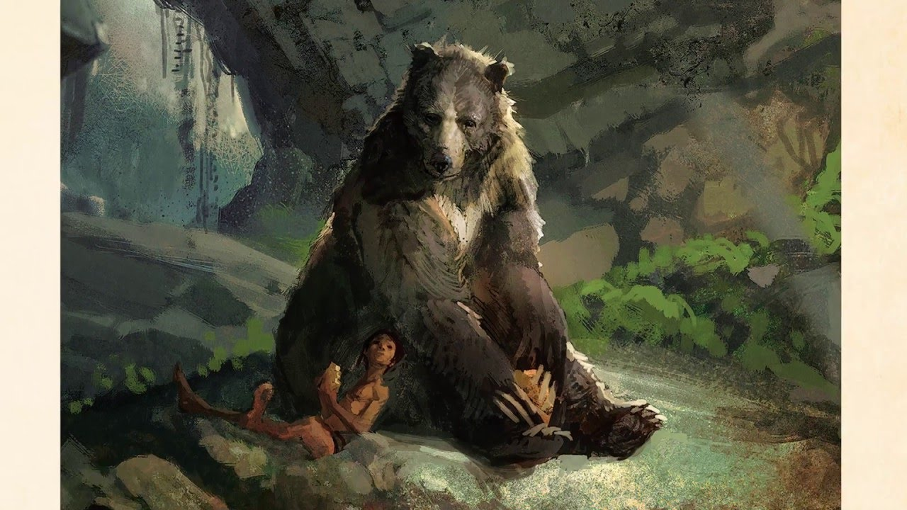 The Art Of The Jungle Book YouTube