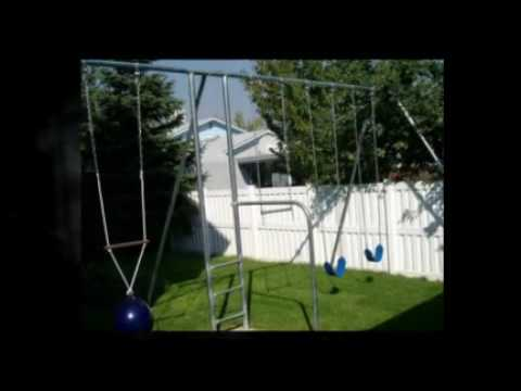 Metal Backyard Swing Sets Built To Last Youtube