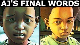 AJ النهائي الكلمات - الفرق الاختيار والمشي الميت الموسم الرابع 4 الحلقة 1: يتم تشغيل