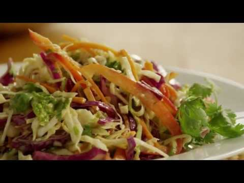 How to Make Asian-Style Coleslaw | Salad Recipes | Allrecipes.com