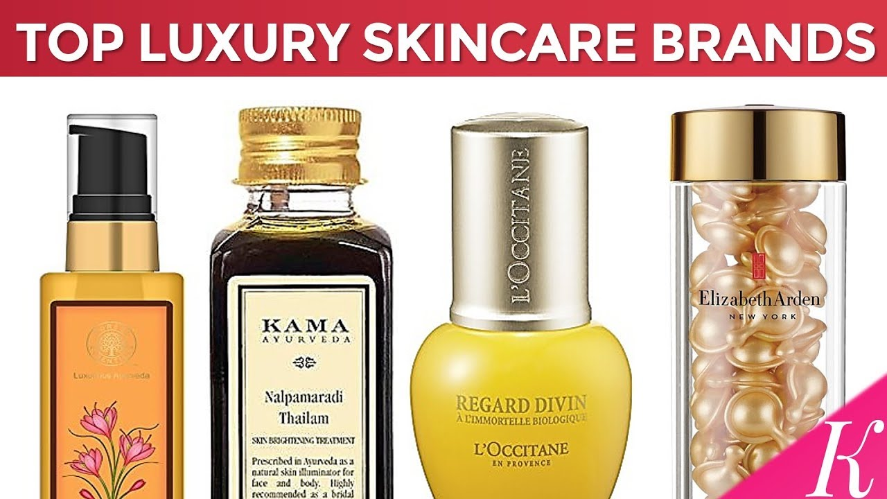 Top luxury skincare brands
