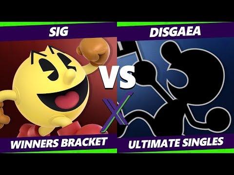 Smash Ultimate Tournament - Sig (Pac-Man) Vs. Disgaea (Game & Watch) S@X 308 SSBU Winners Round 4
