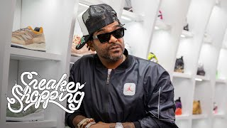 Jim Jones Returns For Sneaker Shopping With Complex