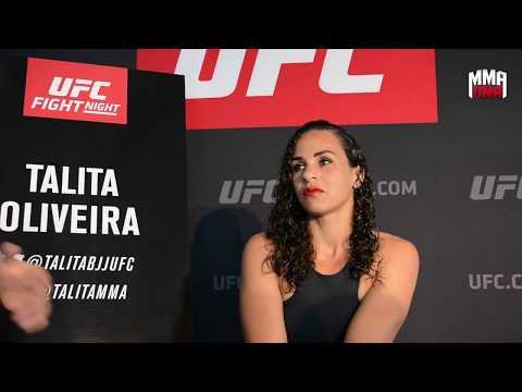 Talita de Oliveira Fight Night Rotterdam