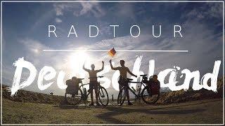 Mit dem Rad durch Deutschland | 1300 Km | D9 Radweg | 2017 | DJI | Gopro
