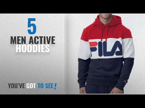 beeb6f5544 Fila Active Hoodies [ Winter 2018 ]: Fila Men's Trayton Hoody Shirt, Chinese  Red, Navy, White, XL - YouTube