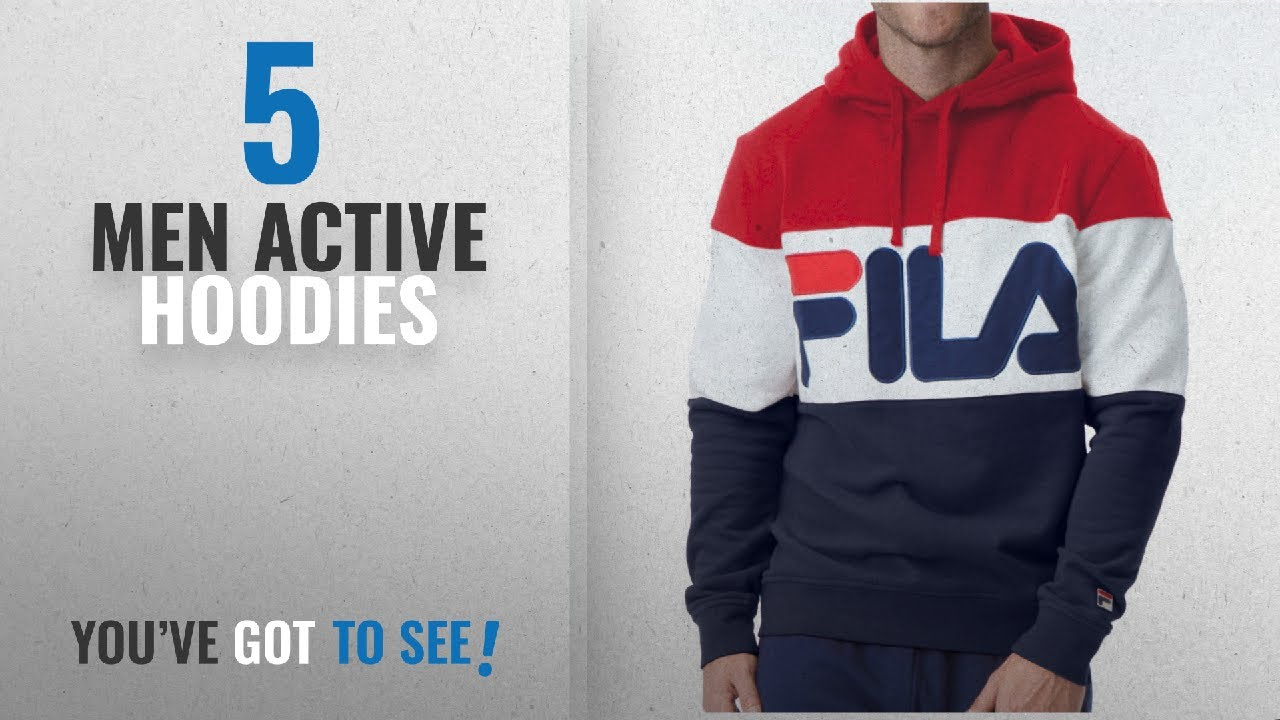 a3237f8c54d7 Fila Active Hoodies [ Winter 2018 ]: Fila Men's Trayton Hoody Shirt ...