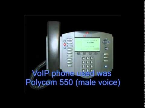 VoIP Over Satellite - Actual conversation with Ground Control's VoIP service