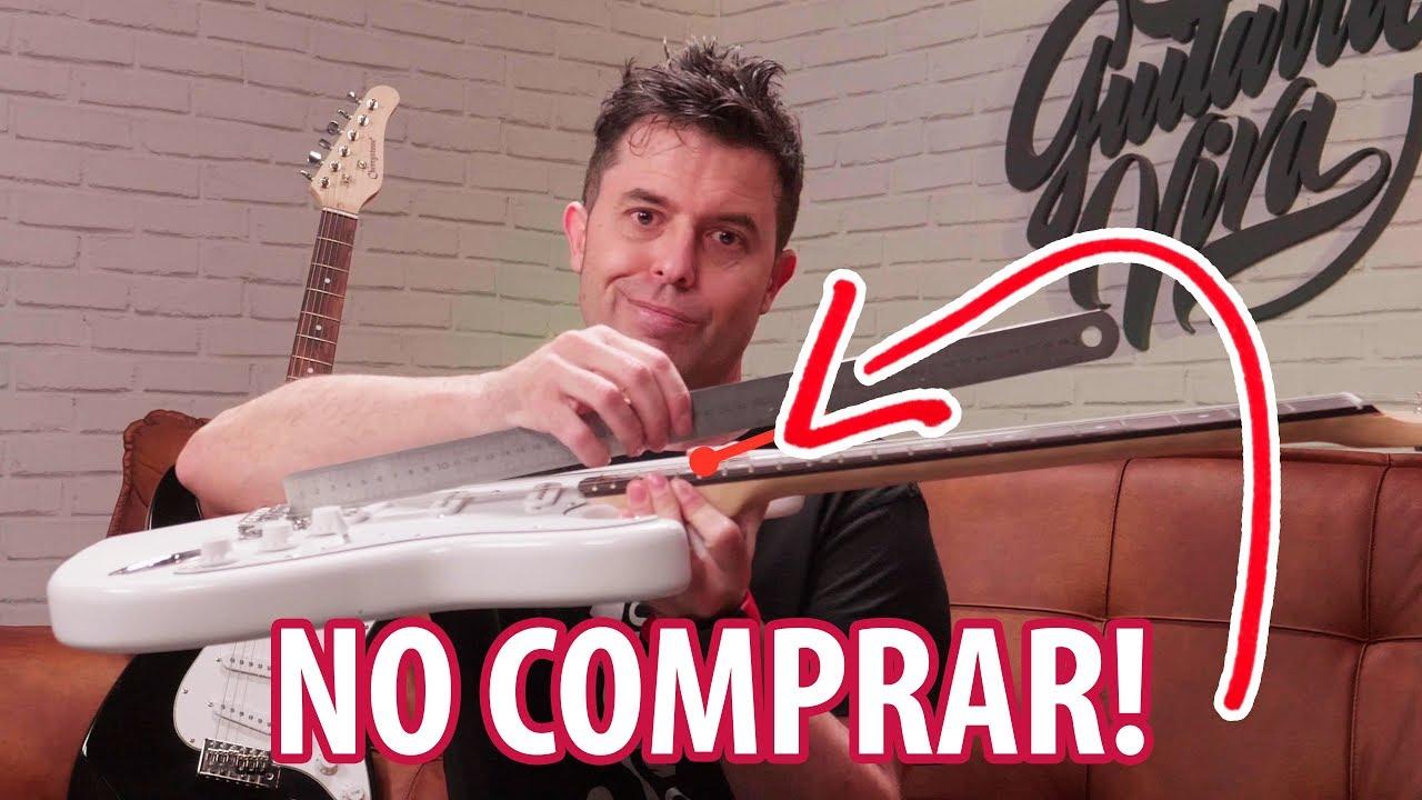 NO COMPRES una GUITARRA eléctrica sin VER ESTO ANTES!  5 trucos para orientarte #1