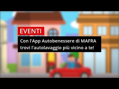 Con l'App Autobenessere di #MAFRA trovi l'autolavaggio più vicino a te sempre!