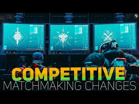 Competitives NEW Matchmaking Change (Is this an Improvement?) | Destiny 2 Black Armory