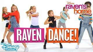 Do The Raven Dance 🕺| Raven's Home | Disney Channel Africa