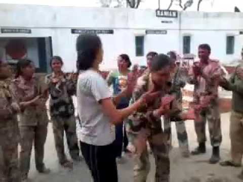 CRPF LADIES DANCE