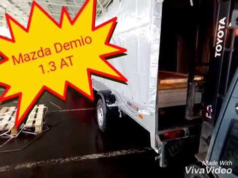 Mazda Demio и трёх метровый прицеп отзыв ССТ (саранск спец техника)