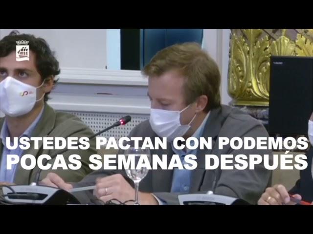 Borja Corominas Debate de Ordenanzas Fiscales 3