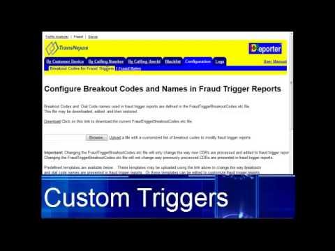 SDReporter Fraud Detection