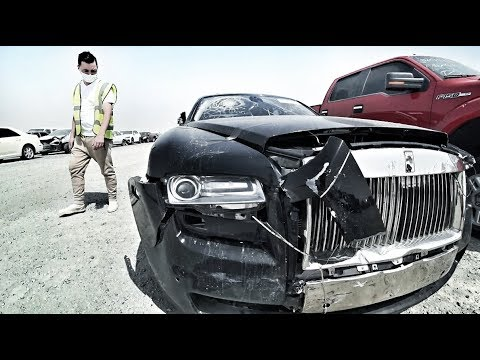 Цены на авто в Dubai.Брошенные авто.Аукцион.Авторынок Dubai - Ржачные видео приколы