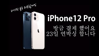 아이폰12pro 사전예약 완료..(23일 언박싱…