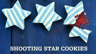 4th Of July Desserts: Sugar Cookie Stars With A Surprise Center