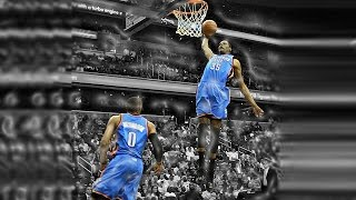 Kevin Durant: Top 10 Alley Oop Dunks from Westbrook Video