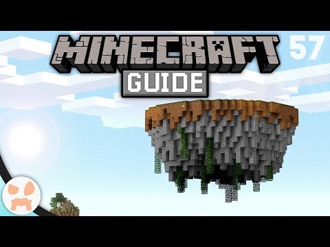 SKY ISLAND 101 - How To Make Sky Islands! | The Minecraft Guide - Minecraft 1.14.4 Lets Play Ep 57