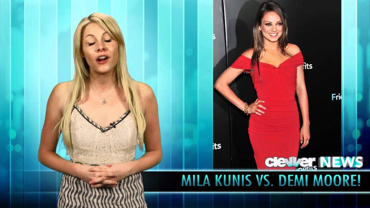 Mila Kunis . Demi Moore Over Ashton Kutcher