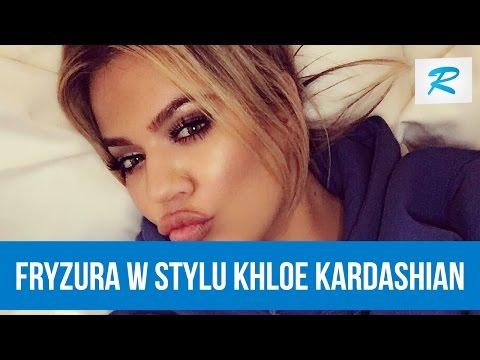 Jak Zrobić Fryzurę W Stylu Khloe Kardashian Rusz Się Youtube