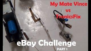 PART 1- eBay Repair Challenge - Amateur vs Pro