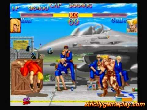 Street Fighter Anniversary Collection Ps2 Gameplay Youtube