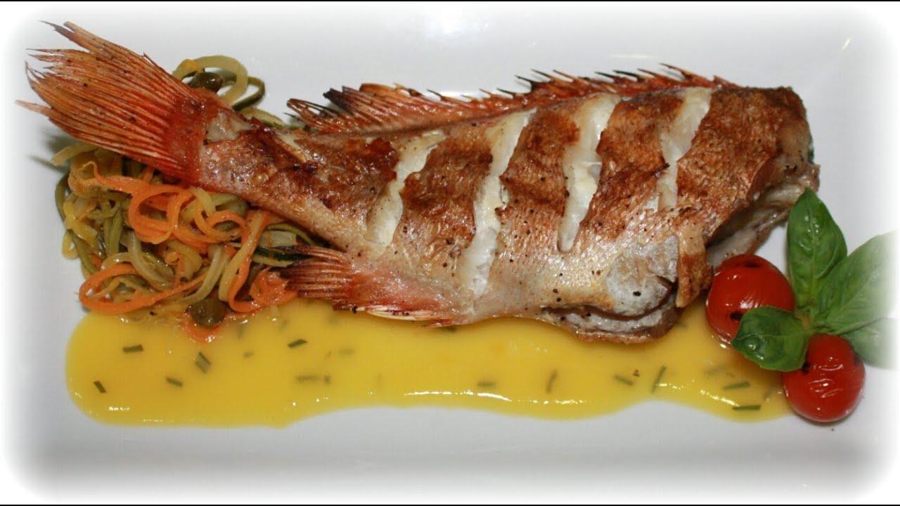 как вкусно приготовить морского окуня в духовке с картошкой