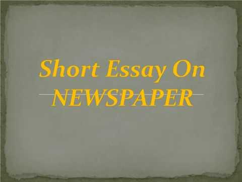 High School Entrance Essay  Science Essays also High School Dropouts Essay Short Essay On Newspaper Business Essay Writing