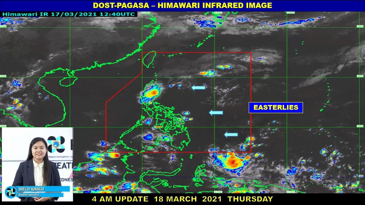 Public Weather Forecast Issued at 4:00 AM March 18, 2021
