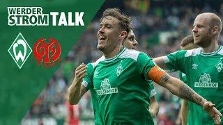 Max Kruse nach zwei Toren im WerderStrom-Talk | Werder Bremen - Mainz 05 (3:1)