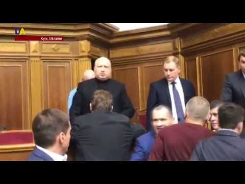 Tensions in Ukrainian Parliament as MPs Debate Legal Status of Occupied Territories