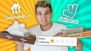 I am testing the BAD food of DELIEVERO vs DELIVEROO!