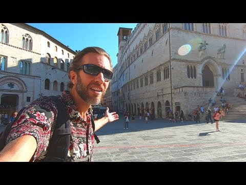 Exploring Perugia, Italy | Classic Old European City