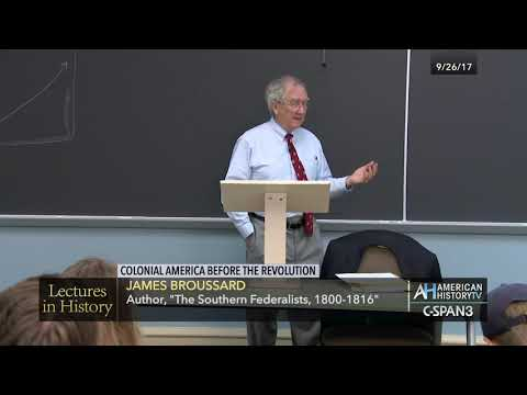 Lectures in History Preview: Colonial America Before the Revolution