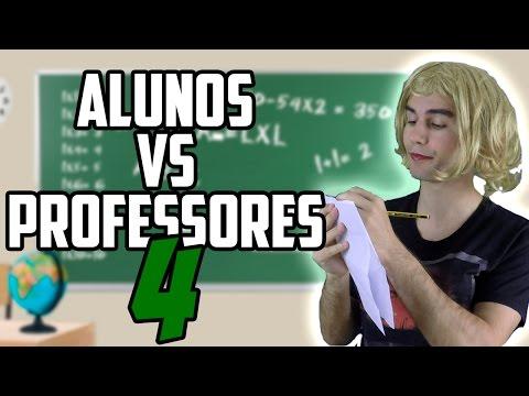 ALUNOS VS PROFESSORES 4