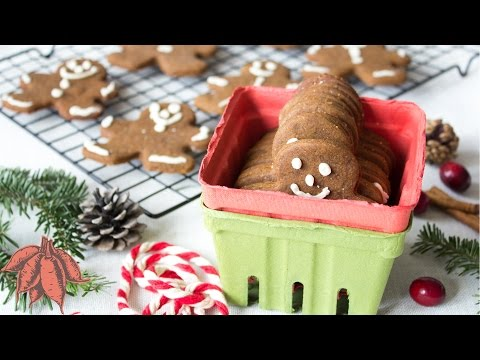 Vegan Gingerbread Cookies 🎄 ✨ Happy Holidays🎁 ❤️