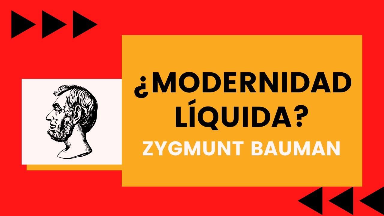 MODERNIDAD LÍQUIDA - Yorchdocencia