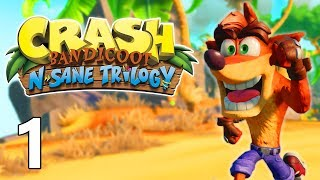 CRASH BANDICOOT (N. Sane Trilogy) FR (Gameplay Crash 1)