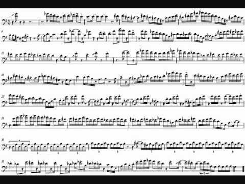 Elliot Mason 'Black & White' Trombone Solo Transcription
