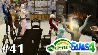 Пожар в замке! - My Little Sims (Вампиры) - #41