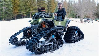 100HP 4x4 Power Wheels Gets Tracks!