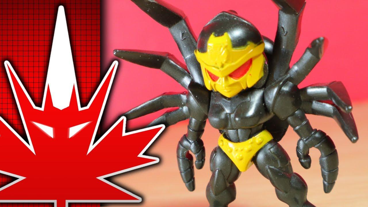 Transformers Cyberverse Tiny Turbo Blackarachnia Review by TFanPage101