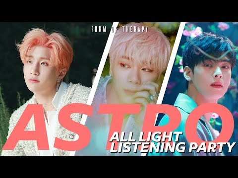 "Listening Party: ASTRO ""All Light"" Album Reaction - First Listen"