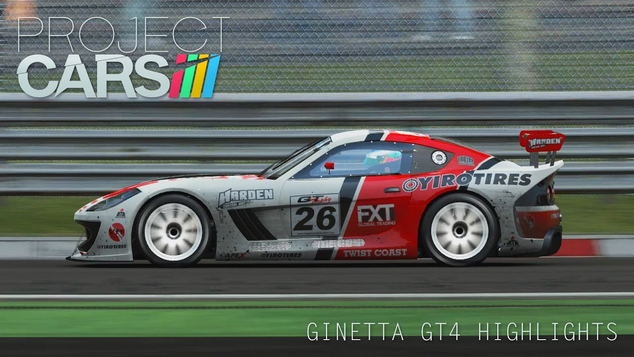 Project Cars: Ginetta GT4 Round 1 Highlights - A Good Start - YouTube