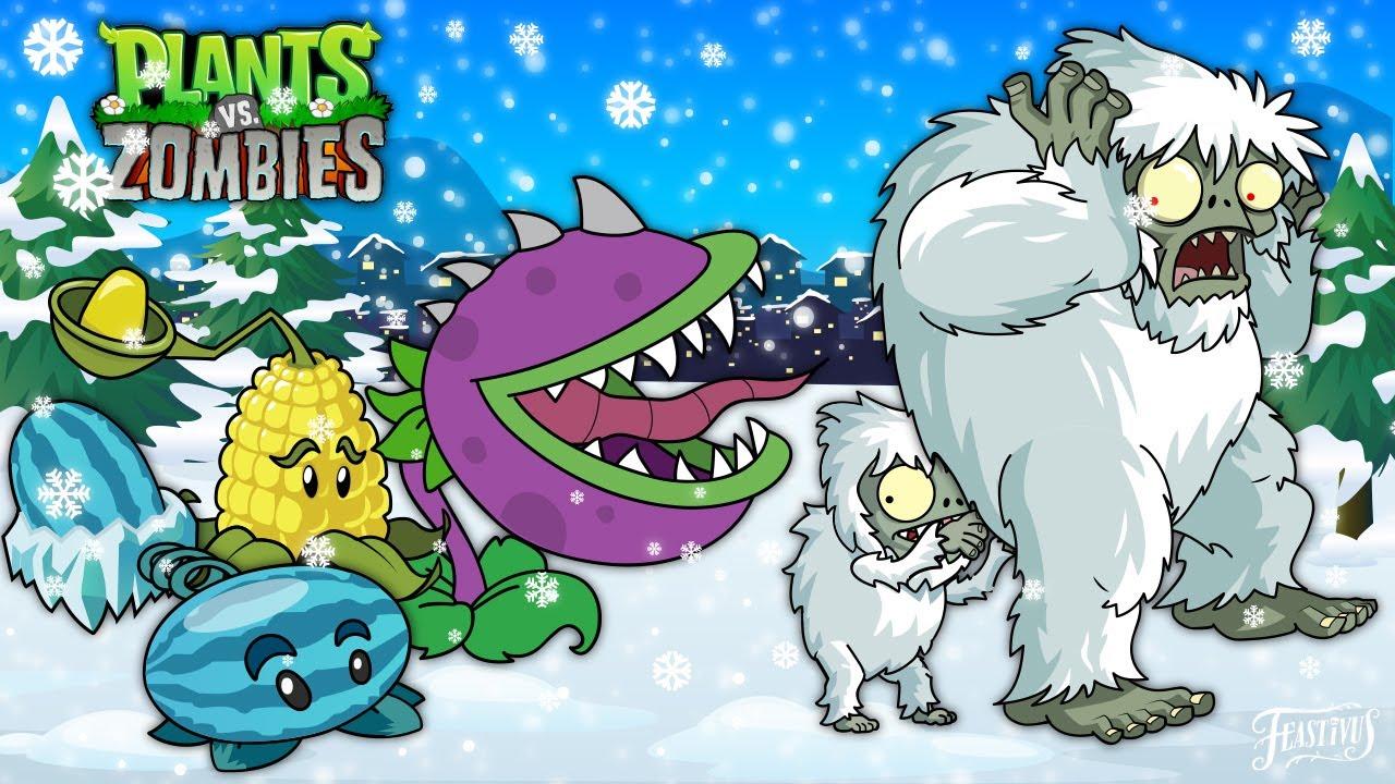 Christmas Animation Of Plants vs Zombies 2020: Episode 3 (PvZ 2)