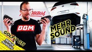 Remus Auspuffanlage für den VW Golf 7 GTI - BBM Motorsport